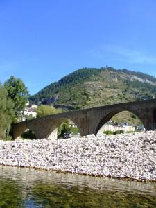 Le pont de Sainte Enimie